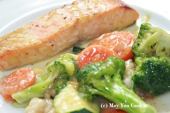 Hone Mustard Salmon | May You Cook It