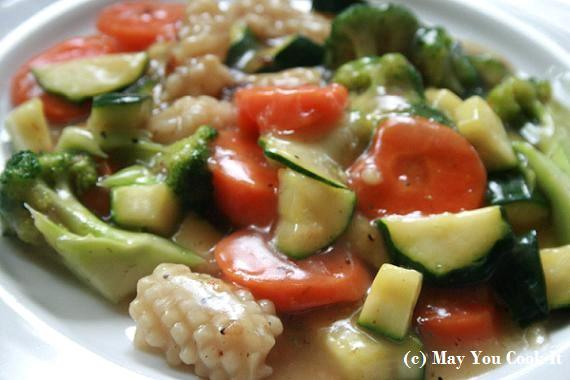Stir Fried Vegetables | May You Cook Iy