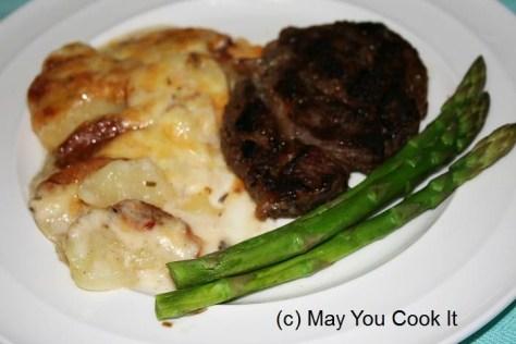May You Cook It Potato Gratin